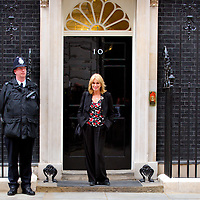 London May 21 Joanna Lumley arrives at n 10 Downing Street.for talks with Prime Minister Gordon Brown about the Gurkhas right of stay in Britain..Standard Licence feee's apply  to all image usage.Marco Secchi - Xianpix tel +44 (0) 845 050 6211 .e-mail ms@msecchi.com .http://www.marcosecchi.com