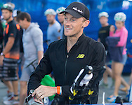Peter Kerr (AUS), November 3, 2013 - Triathlon : Noosa Triathlon, Noosa Pde, Noosa, Queensland, Australia. Credit: Lucas Wroe