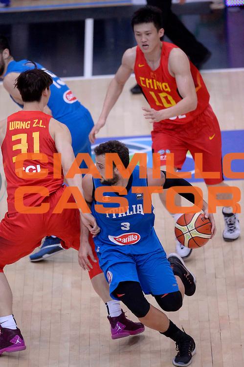 DESCRIZIONE: Trento Trentino Basket Cup - Italia Cina<br /> GIOCATORE: Marco Belinelli<br /> CATEGORIA: Nazionale Maschile Senior<br /> GARA: Trento Trentino Basket Cup - Italia Cina<br /> DATA: 18/06/2016<br /> AUTORE: Agenzia Ciamillo-Castoria