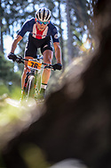 Jerry Dufour (USA) at the 2018 UCI MTB World Championships - Lenzerheide, Switzerland