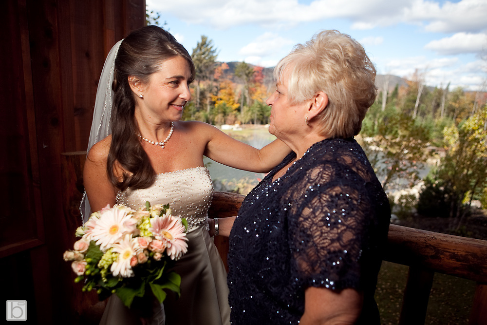Oct 11, 2009: Wedding Celebration of Michele Milstein and Potter Polk in Lake Placid, N.Y.    (Photo ©Todd Bissonette)