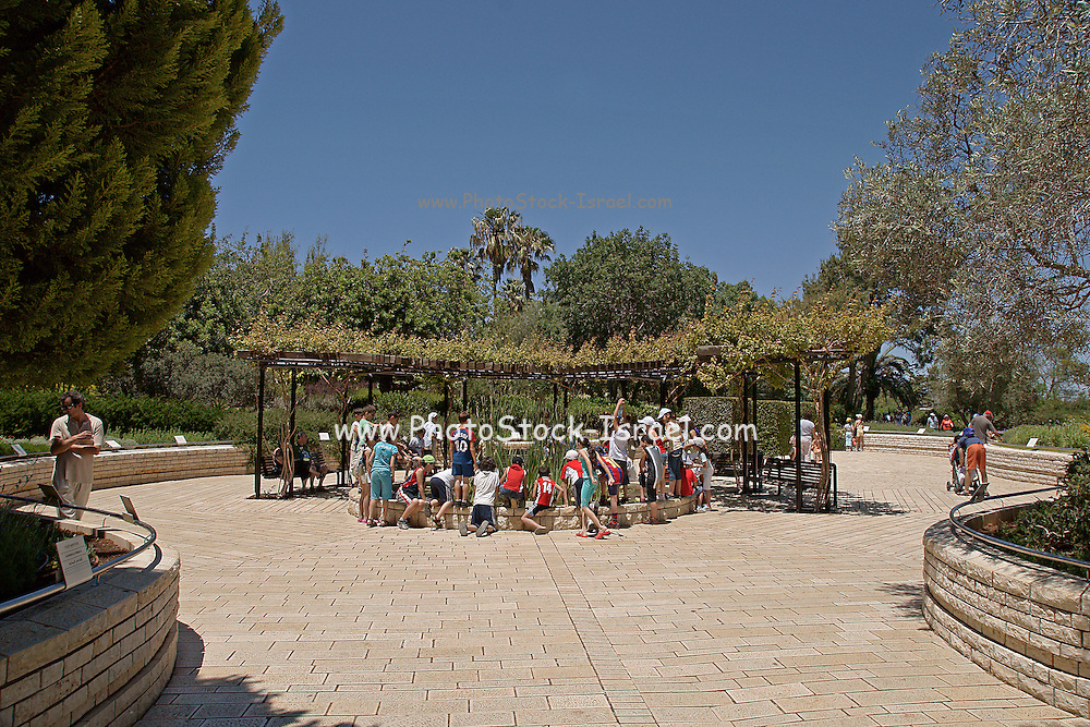 Israel, Mount Carmel, Ramat Hanadiv gardens in Zichron Ya'acov