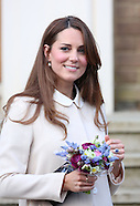Duchess of Cambridge High Wycombe April 2013