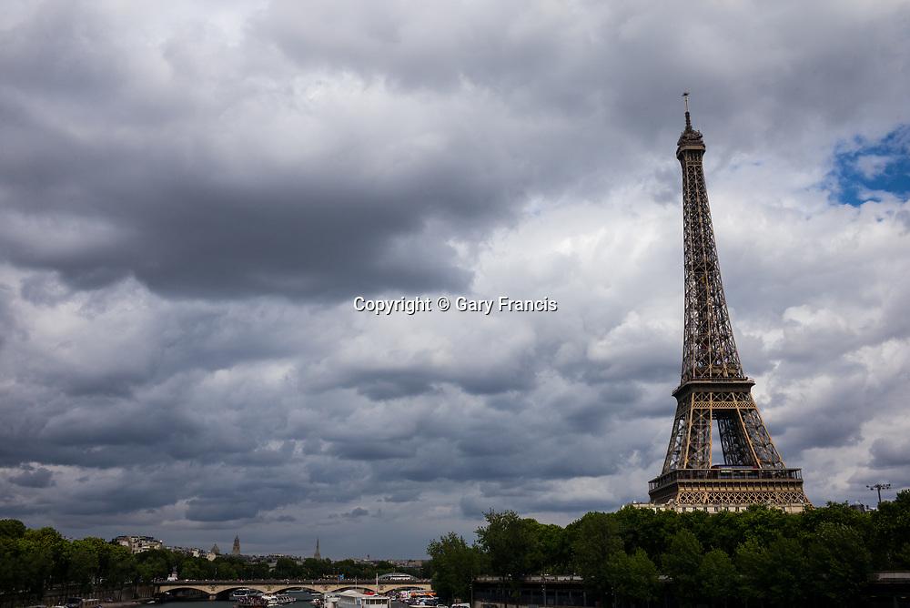 Paris city images taken in July 2017, Paris, France