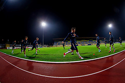 Andraz Struna during practice session of Slovenian National football team prior to the friendly match against Former Yugoslav republic of Macedonia on November 12, 2012 in Domzale, Slovenia. (Photo By Vid Ponikvar / Sportida)