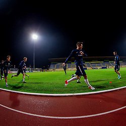 20121112: SLO, Football - Practice session of Slovenian National team in Domzale