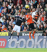 Dundee's Kevin Holt and Dundee United's Blair Spitttal - Dundee United v Dundee at Tannadice<br /> - Ladbrokes Premiership<br /> <br />  - © David Young - www.davidyoungphoto.co.uk - email: davidyoungphoto@gmail.com