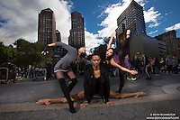 Union Square Dancers featuring Amanda Lewis, Andre Street and ballerina Maya Ho. Dance As Art- The New York Photography Project
