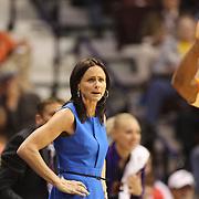 Head Coach Sandy Brondello, Phoenix Mercury, on the sideline during the Connecticut Sun Vs Phoenix Mercury WNBA regular season game at Mohegan Sun Arena, Uncasville, Connecticut, USA. 23rd May 2014. Photo Tim Clayton