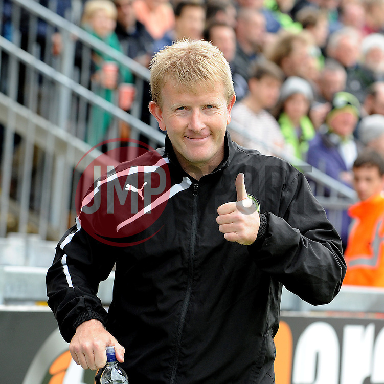 Forest Green Rovers Manager, Adrian Pennock - Photo mandatory by-line: Neil Brookman/JMP - Mobile: 07966 386802 - 03/05/2015 - SPORT - Football - Bristol - Memorial Stadium - Bristol Rovers v Forest Green Rovers - Vanarama Football Conference