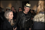 PAULINE DALY; PAUL SIMONON, Private view, Paul Simonon- Wot no Bike, ICA Nash and Brandon Rooms, London. 20 January 2015