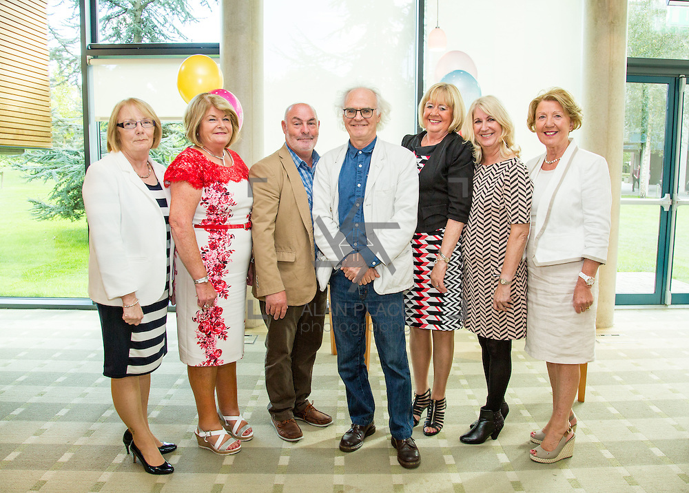 30.09.2016       <br /> University of Limerick ITD Retirement Gathering, Millstream Common room. <br /> Pictured left to right are retiree's, Mai McGurk, Ann Donnellen, Michael O'Callaghan, David Lilburn, Fran Lynch, Helen Killilea and Anne Foley. Picture: Alan Place