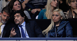 22.11.2010, Marriott Country Hall, London, ENG, ATP World Tour Finals, im Bild Maradona and Claudia, EXPA Pictures © 2010, PhotoCredit: EXPA/ InsideFoto/ Semedia *** ATTENTION *** FOR AUSTRIA AND SLOVENIA USE ONLY!