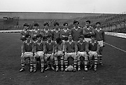 Vocational Schools Football Final, Clare v Tyrone.  Clare Team..10.05.1970