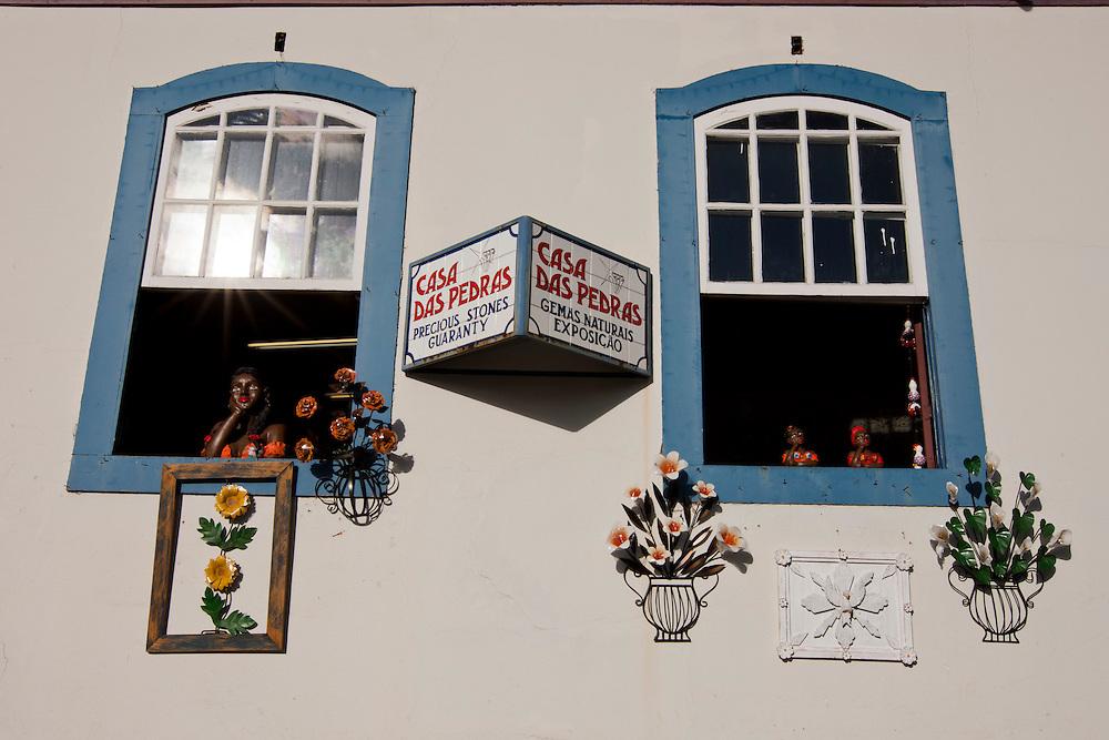 Ouro Preto_MG, Brasil...Fachada de casarao historico em Ouro Preto, Minas Gerais...Colonial facade in Ouro Preto, Minas Gerais...Foto: MARCUS DESIMONI / NITRO