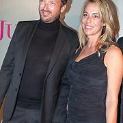 NLD/Amsterdam/20180920 - Premiere Judas, Marion Pouw en partner Chris Meijer