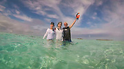 Snorkeling, Aitutaki, Cook Islands, South Pacific