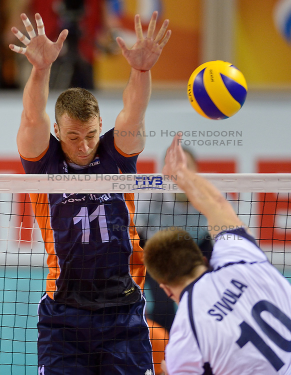 20150613 NED: World League Nederland - Finland, Almere<br /> Dick Kooy #11