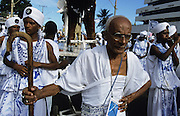 "The Carnaval, that many think is the best in Brazil, is still a street mass event involving almost the entire population. One of the oldest and loved afoxés (""blocos"") is Filhos de Gandhi (""Sons of Gandhi"")."