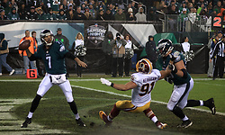Eagles quarterback Sam Bradford in action during the December 26, 2015 NFC East Division game between the Washington Redskins and Philadelphia Eagles. (photo by Bastiaan Slabbers)