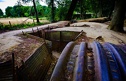 First World War trenches at Sanctuary Wood near Ypres, Belgium<br /> <br /> (c) Andrew Wilson | Edinburgh Elite media