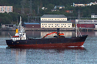 Båten Havgløtt i Ellingsøyfjorden.<br /> Foto: Svein Ove Ekornesvåg