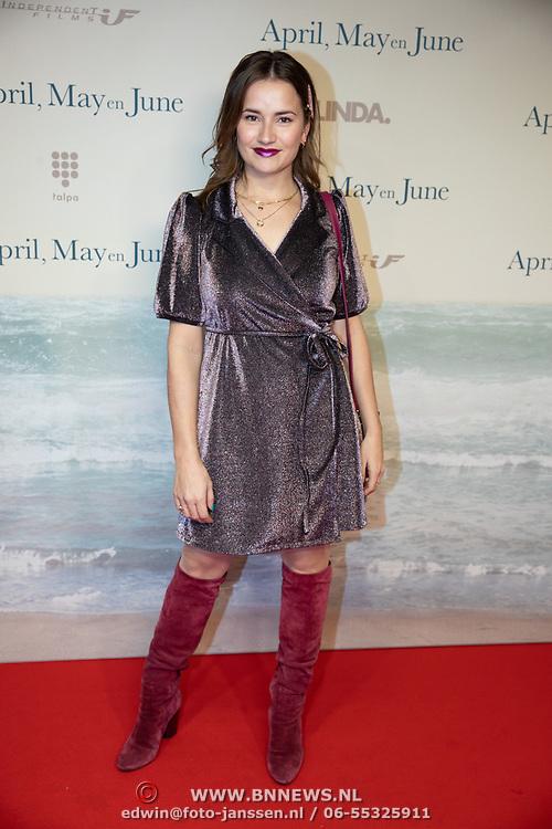 NLD/Amsterdam/20191217 - Premiere April, May en June, Barbara Sloesen