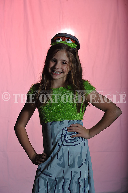 Meredith Goza poses on Halloween in Oxford, Miss. on Wednesday, October 31, 2012.