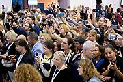Koningin Máxima bij congres van de European Academy of Neurology in de RAI, Amsterdam<br /> <br /> Queen Máxima at the congress of the European Academy of Neurology in the RAI, Amsterdam