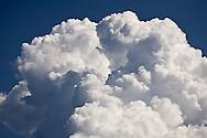 Cumulus cloud billowing like a cotton ball