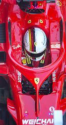 March 6, 2018 - Barcelona, Spain - Testvecka 2, Formel 1, Barcelona ..Sebastian Vettel (Credit Image: © JerrevÃ…Ng Stefan/Aftonbladet/IBL via ZUMA Wire)