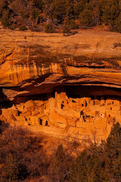 Cliff Palace, Mesa Verde National Park, Colorado USA