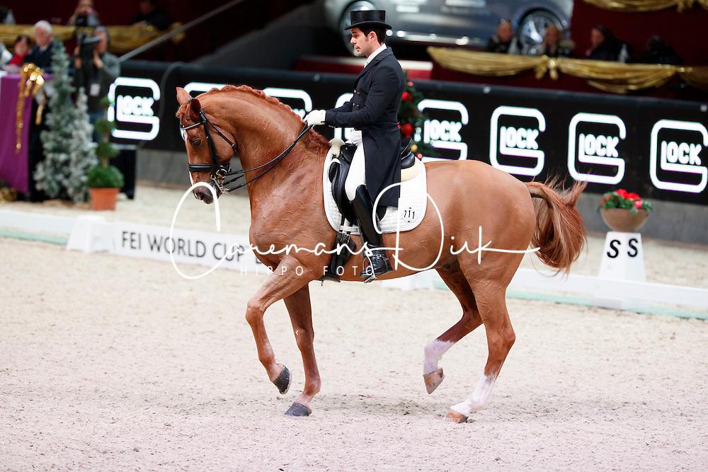 Jurado Lopez Severo Jesus, ESP, Lorenzo<br /> MEVISTO Amadeus Horse Indoor Salzburg<br /> &copy; Hippo Foto - Stefan Lafrentz<br /> 11-12-2016