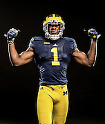 9/16/2014 Devin Funchess wide receiver Michigan football.