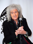 Brian May of Queen appears to announce summer North American tour dates at Madison Square Garden in New York City, New York on March 06, 2014.