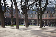 France. Paris. 4th district. place des Vosges  in le Marais
