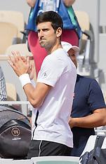 2019 Roland Garros Tennis - Training - 22 May 2019