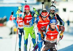 SCHEMPP Simon (GER) competes during Men 12,5 km Pursuit at day 3 of IBU Biathlon World Cup 2014/2015 Pokljuka, on December 20, 2014 in Rudno polje, Pokljuka, Slovenia. Photo by Vid Ponikvar / Sportida