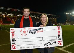 Bristol City Community Trust 50/50 Match day draw.  - Photo mandatory by-line: Dougie Allward/JMP - Mobile: 07966 386802 - 10/02/2015 - SPORT - Football - Bristol - Ashton Gate - Bristol City v Port Vale - Sky Bet League One