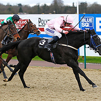 Artful Lady and R L Moore winning the 2.00 race