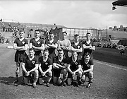 30/04/1961<br /> 04/30/1961<br /> 30 April 1961<br /> Soccer: Cork Celtic v Drumcondra, Final of Top Four Competition at Dalymount Park, Dublin. The Cork Celtic team.