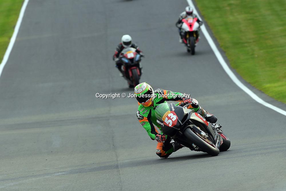 #53 Joe Burns Aprillia UK/EHA IN Competition Racing Pirelli National Superstock 1000