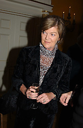 The MARCHIONESS OF SALISBURY at a private view of jewellery designed and made by Luis Miguel Howard held at 30 Pavillion Road, London on 27th October 2004.<br /><br />NON EXCLUSIVE - WORLD RIGHTS