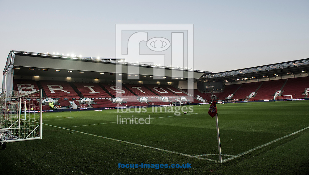A general view of Ashton Gate, Bristol<br /> Picture by Daniel Hambury/Focus Images Ltd +44 7813 022858<br /> 25/10/2016