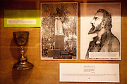 """Exhibition at the house """"Na Sboru"""" in Kunvald. The Unitas Fratrum (Brüdergemeine/Moravian Church) was founded in Kunvald in 1457, when followers of the martyred Jan Hus (John Huss) found refuge on the estate of King George of Poděbrady. Kunvald is a village in 5 km north of Žamberk in the Ústí nad Orlicí District, Pardubice Region of the Czech Republic. It has over 1,000 inhabitants."""