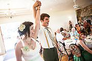 Jason Barnes and Carli Mudd get married on July 19, 2012 at Beckenridge Vineyard in Dallas, Oregon..Photo by Kai-Huei Yau / kaiphoto.net