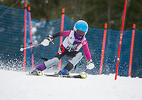 Gus Pitou Memorial Slalom race with Gunstock Ski Club.   (Karen Bobotas/for the Laconia Daily Sun)