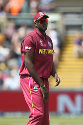 July 1, 2019 - Chester Le Street, County Durham, United Kingdom - West Indies' captain Jason Holder during the ICC Cricket World Cup 2019 match between Sri Lanka and West Indies at Emirates Riverside, Chester le Street on Monday 1st July 2019. (Credit Image: © Mi News/NurPhoto via ZUMA Press)