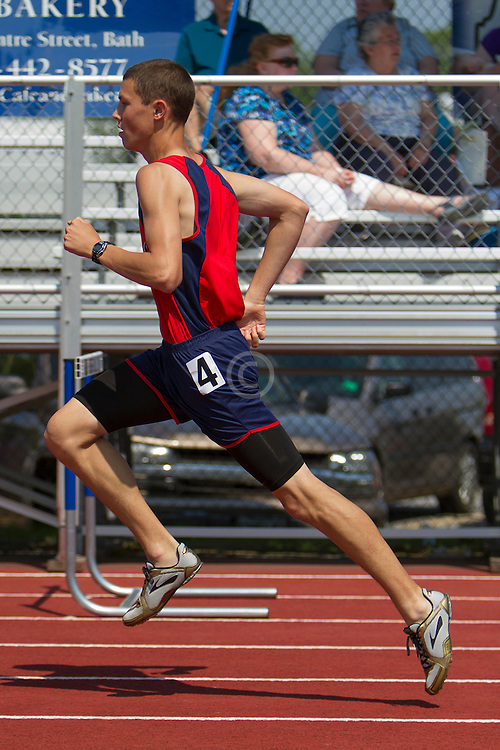 boys 300 meter hurdles, Maine State Track & FIeld Meet - Class B