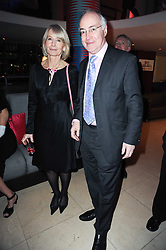 MICHAEL & SANDRA HOWARD at the Costa Book Awards 2009 held at Quaglino's, 16 Bury Street, London SW1 on 26th January 2010.